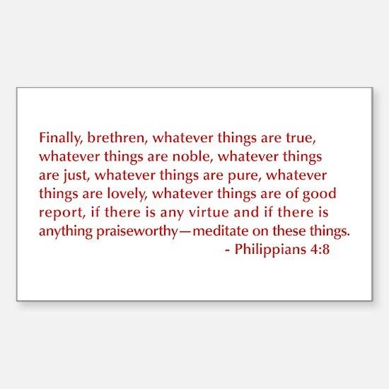 Philippians-4-8-opt-burg Decal