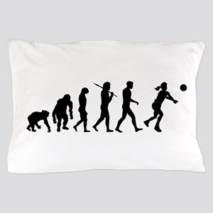 Evolution of Volleyball Pillow Case