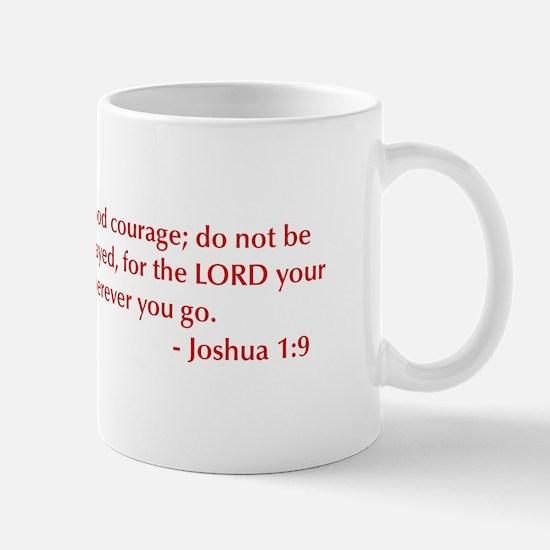 Joshua-1-9-opt-burg Mug