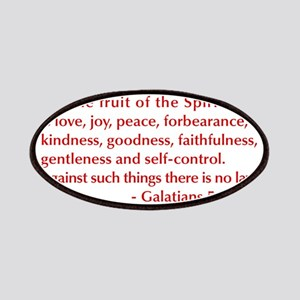 Galatians--5-22-23 Patches