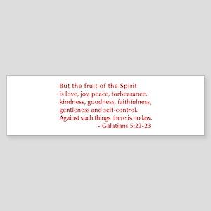 Galatians--5-22-23 Bumper Sticker