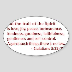Galatians--5-22-23 Sticker