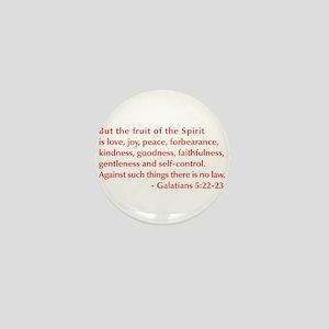 Galatians--5-22-23 Mini Button