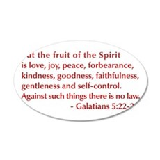 Galatians--5-22-23 Wall Decal
