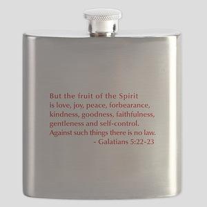 Galatians--5-22-23 Flask