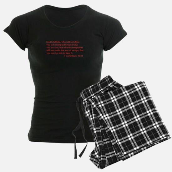 1-Corinthians-10-13-opt-burg Pajamas