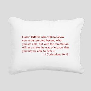 1-Corinthians-10-13-opt-burg Rectangular Canvas Pi