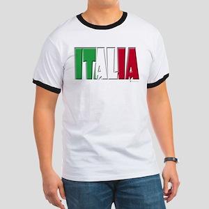 Word Art Italia Ringer T