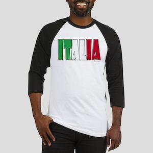 Word Art Italia Baseball Jersey