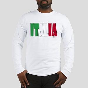 Word Art Italia Long Sleeve T-Shirt