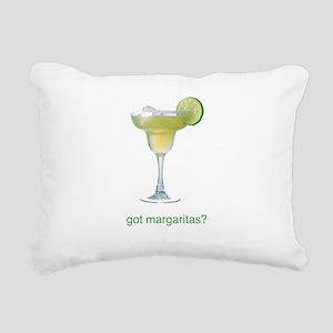 got margaritas1 Rectangular Canvas Pillow