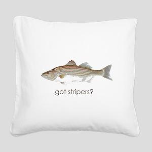 got stripers1 Square Canvas Pillow