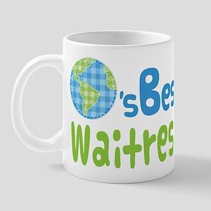 Worlds Best Waitress Mug