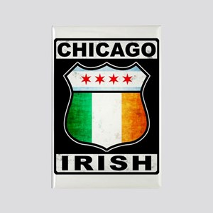 Chicago Irish American Sign Rectangle Magnet