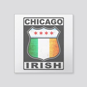 Chicago Irish American Sign Sticker