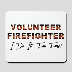 Volunteer Firefighter Mousepad