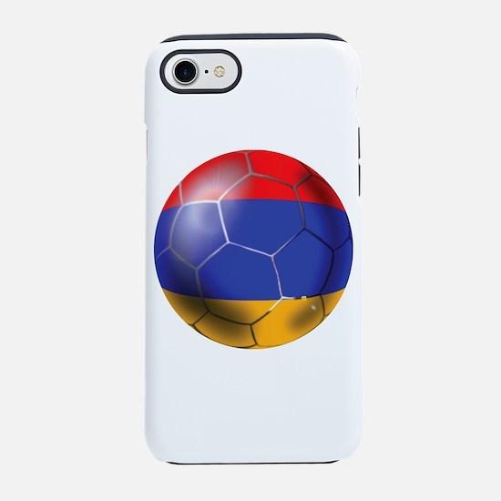 Armenia Soccer Ball iPhone 7 Tough Case