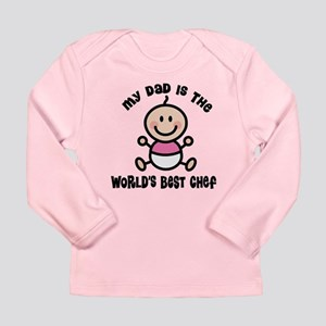 Best Chef Dad Long Sleeve Infant T-Shirt