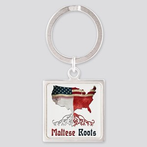 American Maltese Roots Keychains