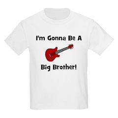 Gonna Be A Big Brother (guita Kids T-Shirt