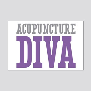 Acupuncture DIVA Mini Poster Print