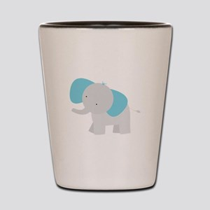 Cartoon Elephant Shot Glass