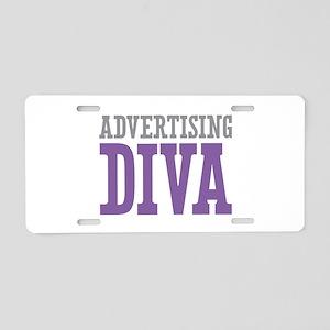 Advertising DIVA Aluminum License Plate