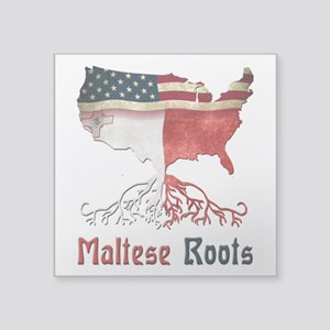 American Maltese Roots Sticker