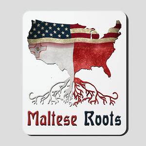 American Maltese Roots Mousepad