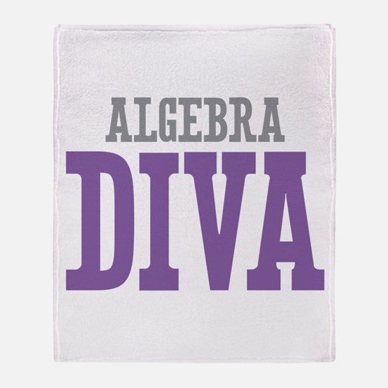 Algebra DIVA Throw Blanket