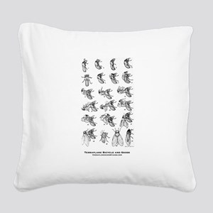 The 17 Year Plan Square Canvas Pillow