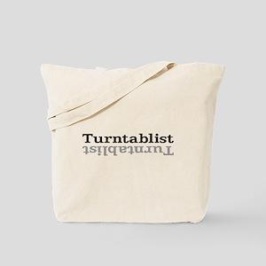 Turntablist Tote Bag