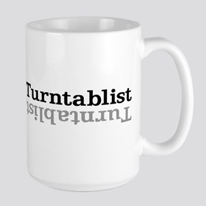 Turntablist Large Mug