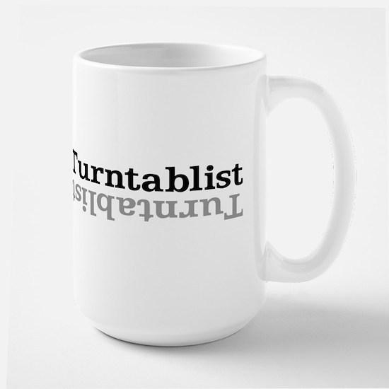 Turntablist Large Mug