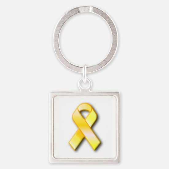 Yellow Ribbon Keychains