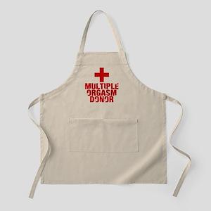 Multiple Orgasm Donor Apron