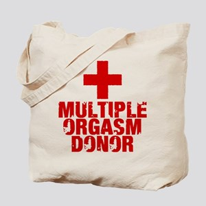 Multiple Orgasm Donor Tote Bag