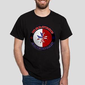 Maltese American Cross Ensign T-Shirt