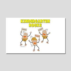 Kindergarten Rocks Car Magnet 20 x 12