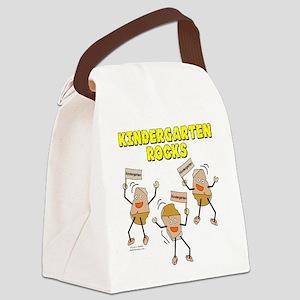 Kindergarten Rocks Canvas Lunch Bag