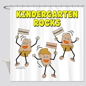 Kindergarten Rocks Shower Curtain