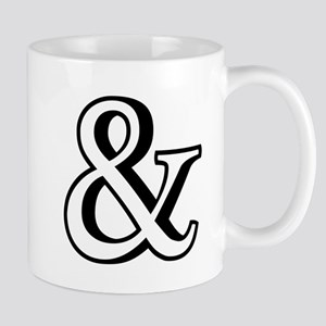 &, ampersand sign with shadow Mug