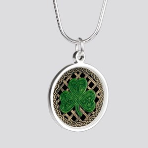 Shamrock And Celtic Knots Necklaces