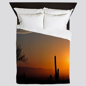 Desert Sunrise Queen Duvet