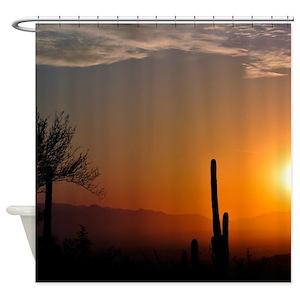 Sunrise Shower Curtains