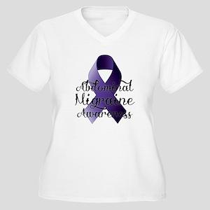 Abdominal Migraine Awareness Plus Size T-Shirt
