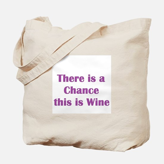 There is a chance this is wine Mug Tote Bag