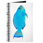Blue Parrotfish f Journal