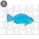 Blue Parrotfish f Puzzle