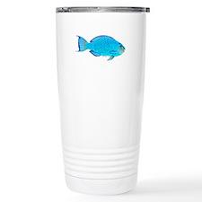 Blue Parrotfish f Travel Mug